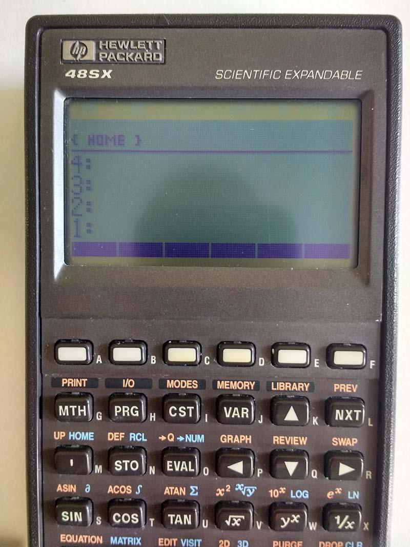 hp calculator 48sx with case n 196 rh casio880 com HP 48 SX Calculator HP 50G Software
