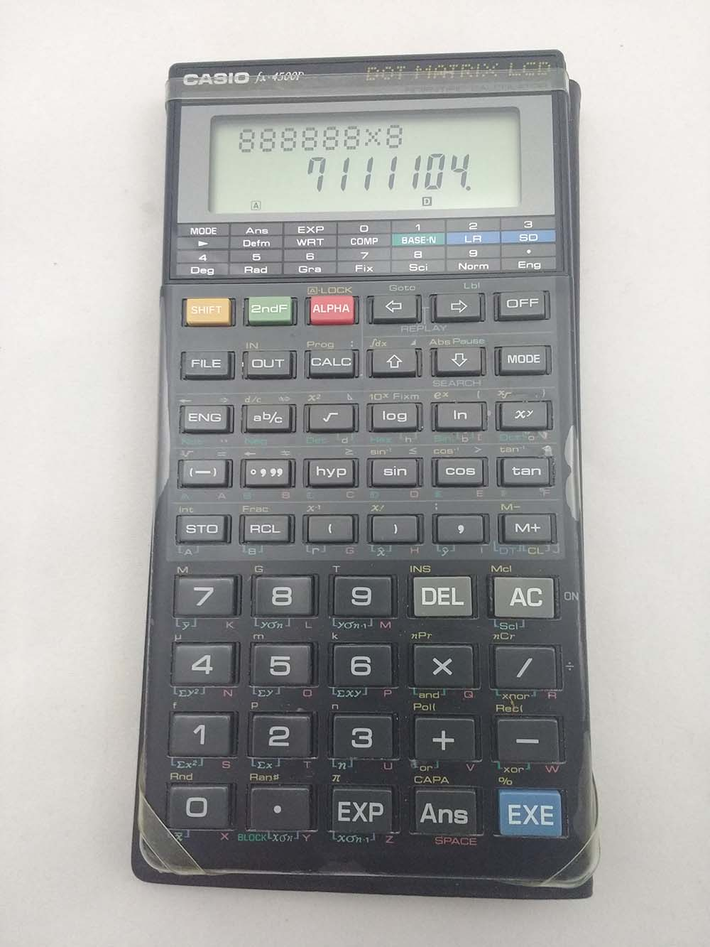 Casio calculator FX-4500Pa (nº268)