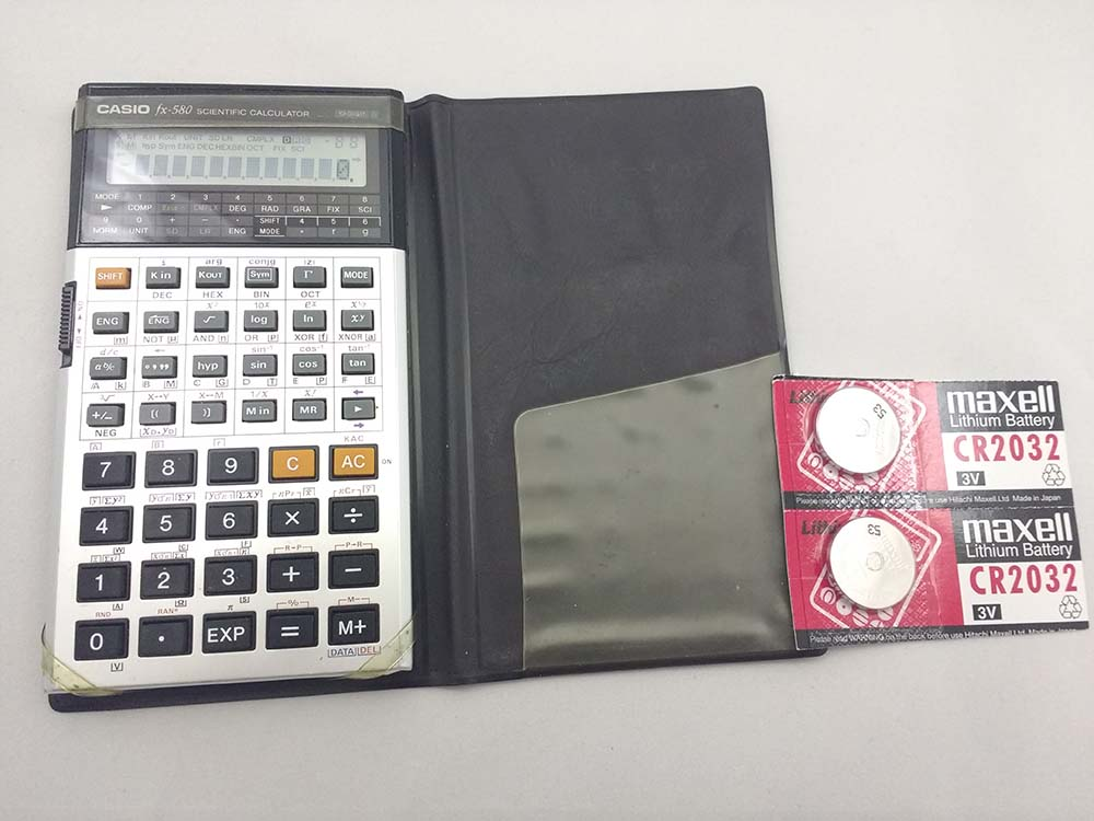 Casio calculator FX-580 (# 332)